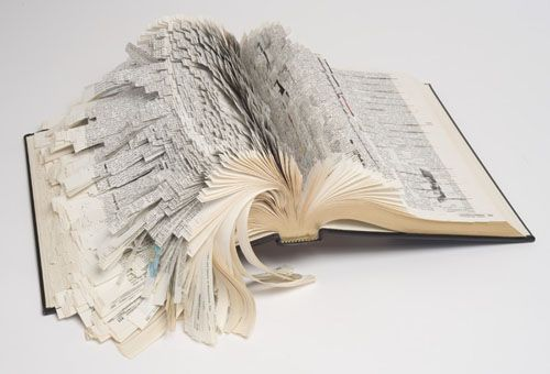 a billion tastes and tunes: book art by various artists