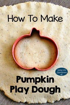 Playing with Pumpkin Play Dough is one of our favorite tactile sensory activities for kids.  Children use their sense of touch, smell, and taste as they squeeze the play dough in their hands, smell the pumpkin spice, and even taste this edible play dough recipe.