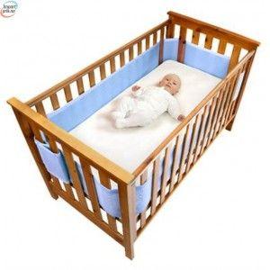 Sengekant Safe Dreams Cot Wrap-Ivory
