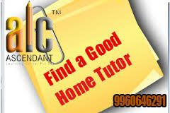Get Professional Home Tutors for all Subjects from KG to 10th Class. We help you to Find quality tutors who help you to get grades by enabling you to realise your full potential. We strive to enable the student in exploring his latent brilliance. Housewives, teachers, senior citizens and professionals, love this part-time tutoring job.  Get the information from #ALC Pvt Ltd. to get best tutor for all subjects at @ your place.. Connect with ALC -9960646291