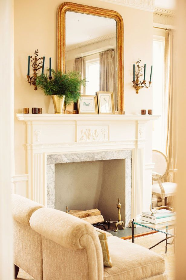 Sconces Above A Fireplace Fireplace Mantle For The
