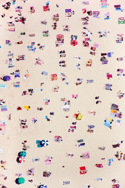 Maison Gray, Art, Graymalin, At The Beach, Summer, Bondi Beach, Aerial Photography, Gray Malin, Beach Life