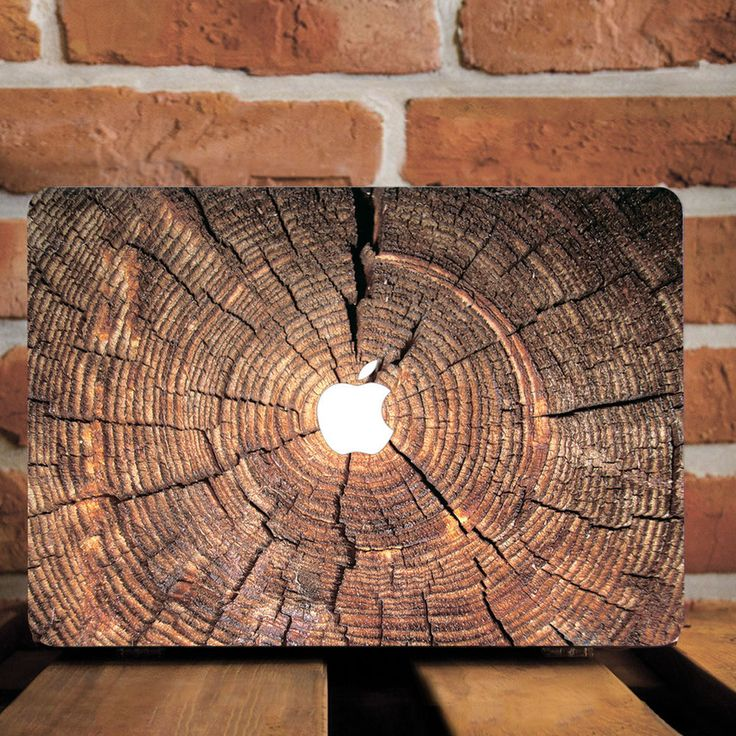 Wooden Design Hard Plastic Case Skin Cover For Macbook Pro Retina 15 Air 11 13