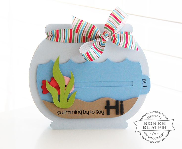Interactive Slider Card with Cricut® by Roree Rumph for Stamp & Scrapbook EXPO