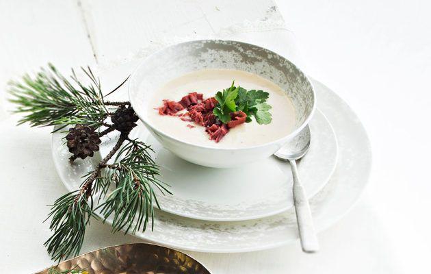 Kuohkea juureskeitto/Creamy root vegetable soup, Kotiliesi.fi