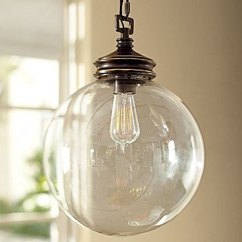 Introduce chic curvatures and vintage design to your space with the hand-blown quality of the Calhoun Glass Pendant Light from Amonson Lighting.