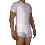 Underworks Mens Extreme Gynecomastia Chest Binder Girdle T-shirt (Apparel)By Underworks