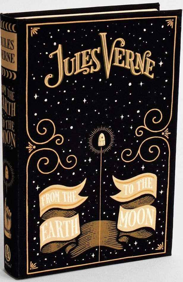 Jules Verne Book Cover Designed by Jim Tierney