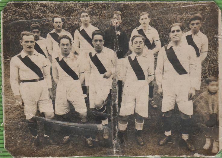 """Club deportivo """"Estrella del mar"""", Corral, 1940s"""