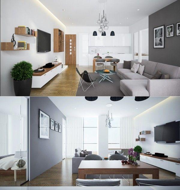 79 best Maison images on Pinterest Home ideas, Ad home and All alone - cuisine ouverte sur salon m