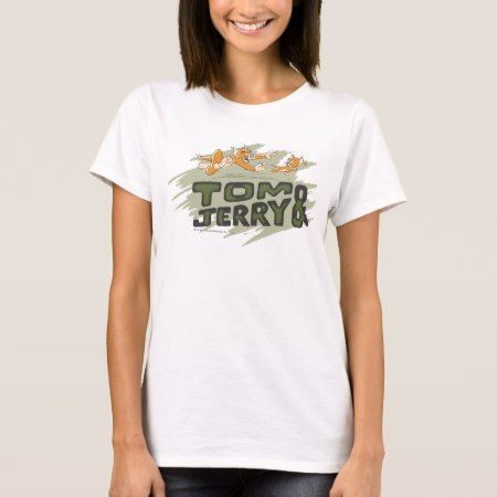Tom and Jerry Chase Logo T-Shirt - click/tap to personalize and buy