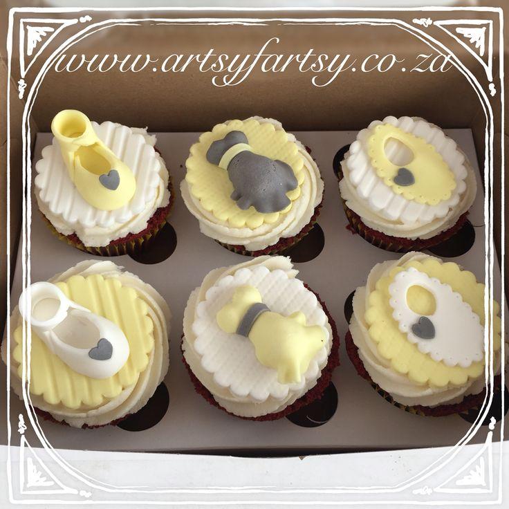 Baby Shower Cupcakes #babyshowercupcakes