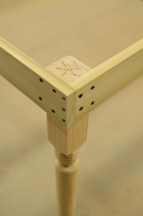 Table Corner Joint Diy Furniture Furniture Projects Furniture