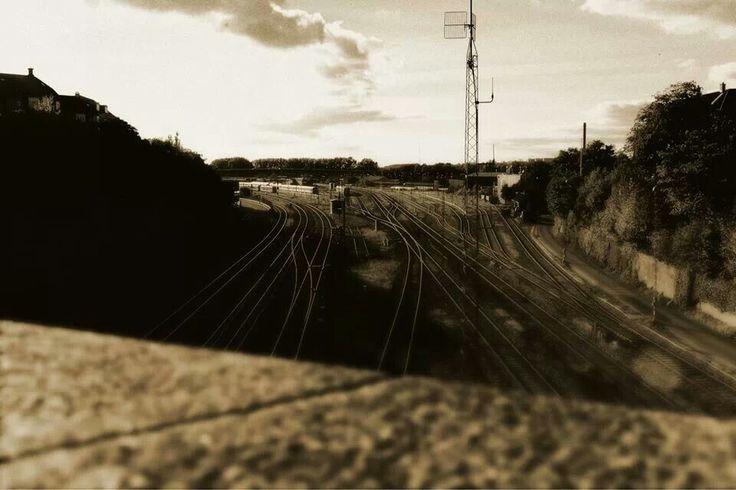 Aarhus train yard