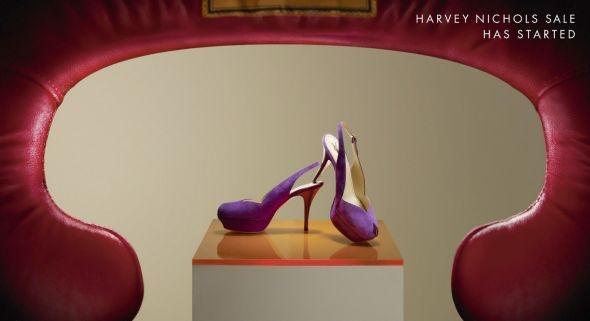 Modern Classic.Harvey Nichols: High heels DDB London
