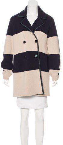 Tory Burch Wool Knee-Length Coat
