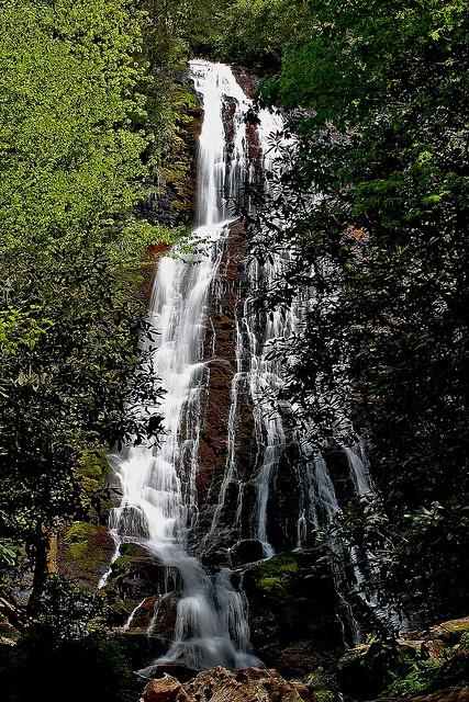 Mingo Falls Cherokee NC This was so majestic!  We loved it!  Steep climb