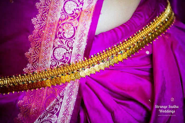South Indian Bridal Saris - Purple Pink Kanjivaram Sari #wedmegood #kanjivaram #sari