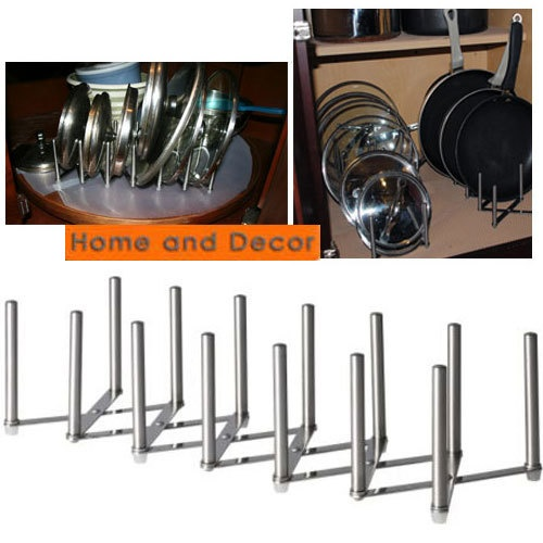Lid Maid Pot Pan Lid Organizer: Organizers, Stainless Steel And Steel On Pinterest