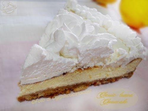Re-Cake: Classic Lemon Cheesecake©L.Oggivicucinocosì