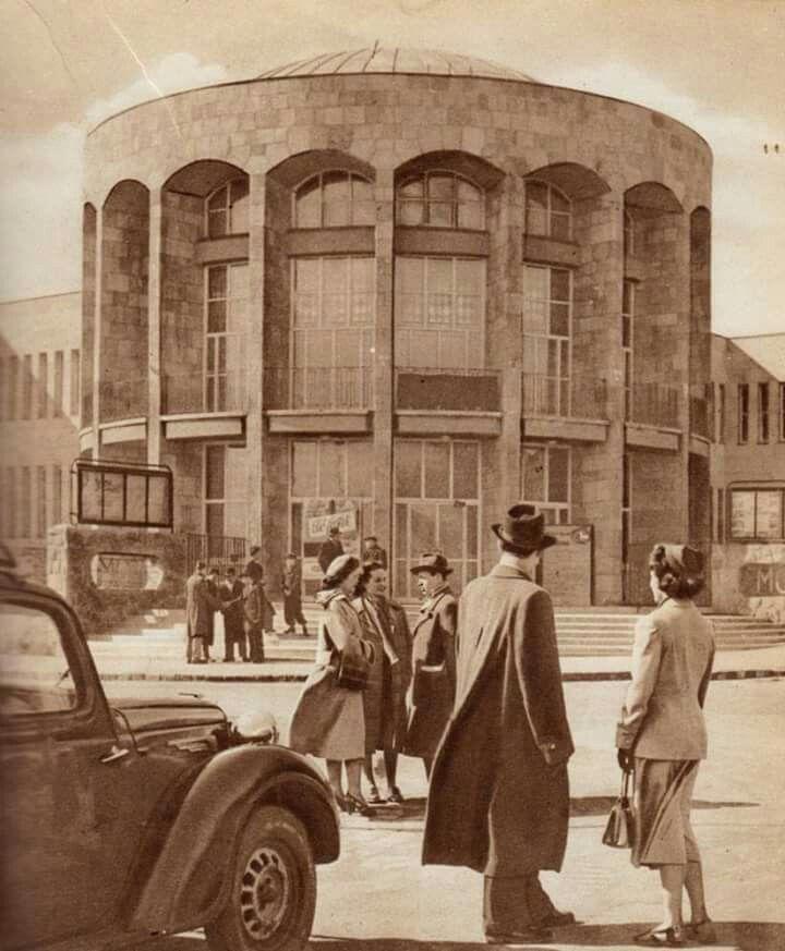 1958. MOM kultúrház.
