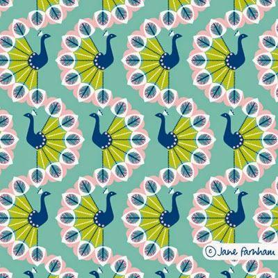 print pattern: FABRIC PREVIEW - jane farnham