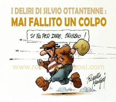 """Silvio Berlusconi, """"il rieccolo""""..."""