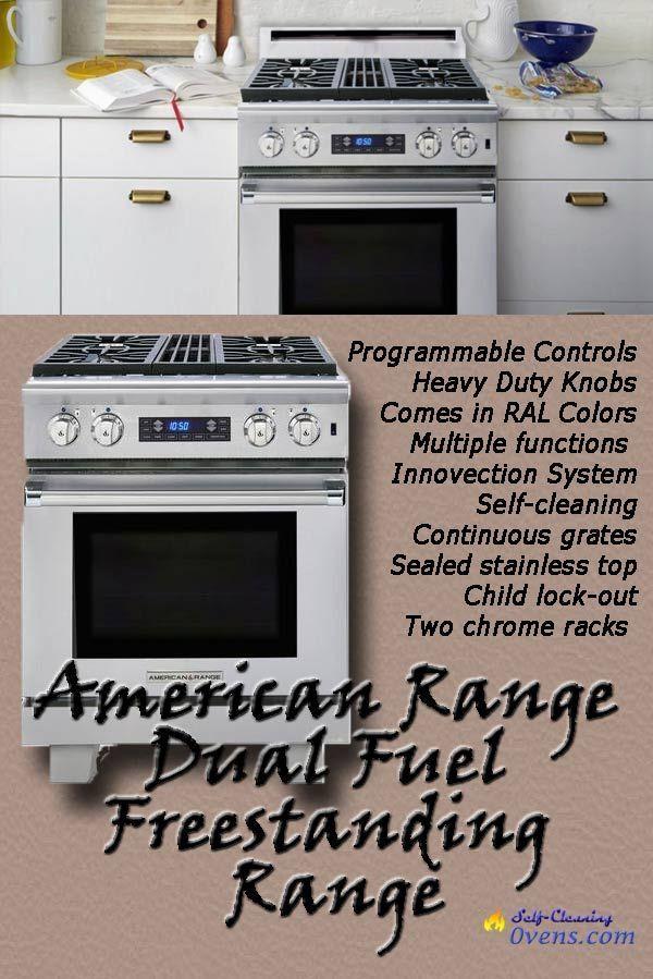 American Range Arr304dfl 30 Dual Fuel Range Medallion Series