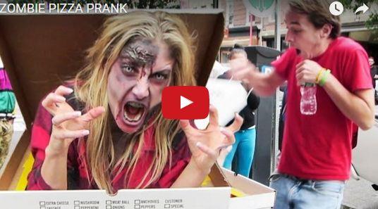 ZOMBIE PIZZA PRANK http://justgetideas.com/zombie-pizza-prank/#sthash.aRkV5Jxg.dpbs