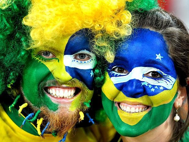 Brazilians are known for being warm and positive, they always find a reason to party and take life easily and try to be as much happy as possible.