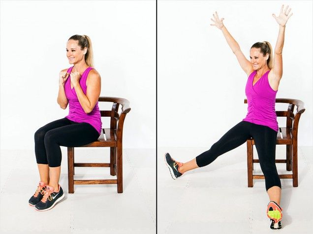 Exercises You Can Do Sitting Down Senior Fitness Jumping Jacks Workout Exercise