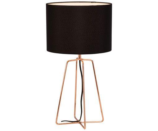 Bringen Sie Ihr Zuhause zum Strahlen: Tischleuchte Grigory in Schwarz, Kupfer und weitere Leuchten von BRILLIANT sind jetzt auf >> WestwingNow erhältlich.