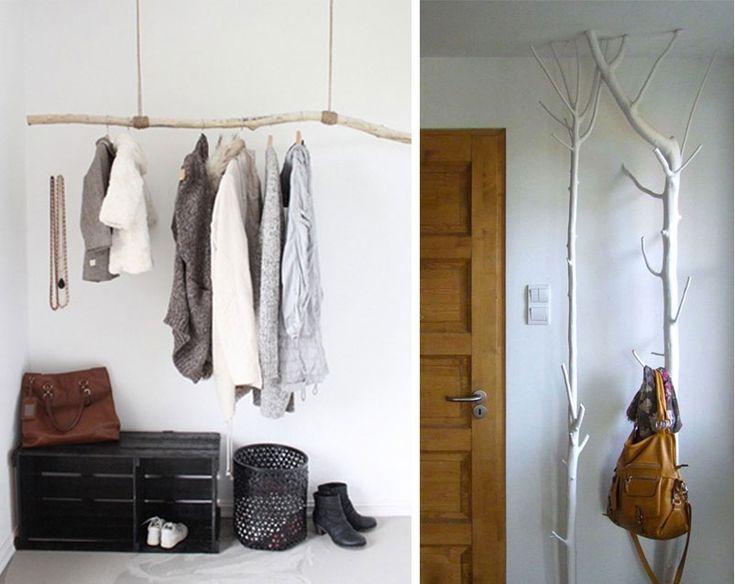 26 idee di decorazione naturale per arredare la casa con tronchi e rami. La semplicità di elementi naturali unita alla funzionalità di oggetti utili