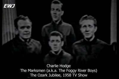 Charlie Hodge - Foggy River Boys - Charlie first met Elvis on the transport ship from the New York to Germany, September 1958, although they had appeared together on a Red Foley show in 1956. They stayed friends until Elvis' death in August 1977. - See more at: http://www.elvis.com.au/presley/news/charlie_hodge_dies_at_71.shtml#sthash.KWMDuj5K.dpuf