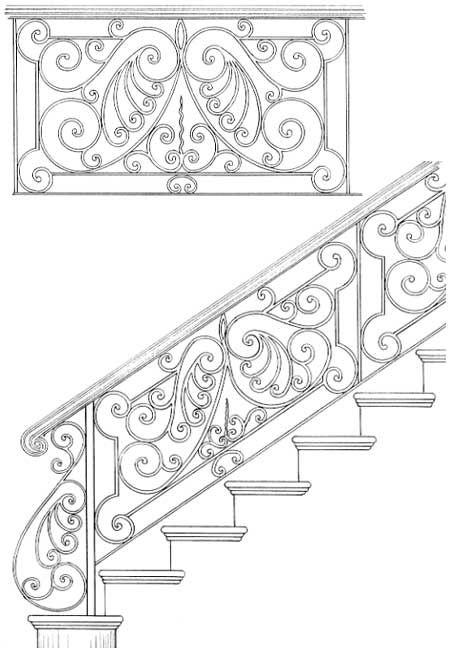 Stair Railing Designs ISR060