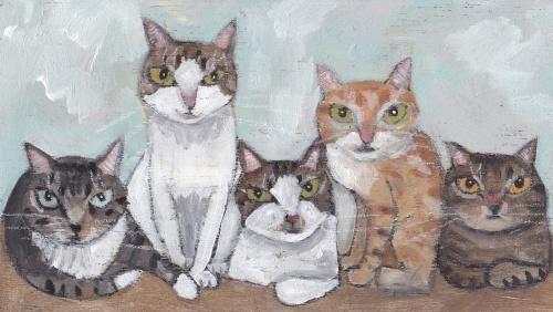 Katzenbilder Zum Ausmalen Und Ausdrucken Katzen Cat Art Cats