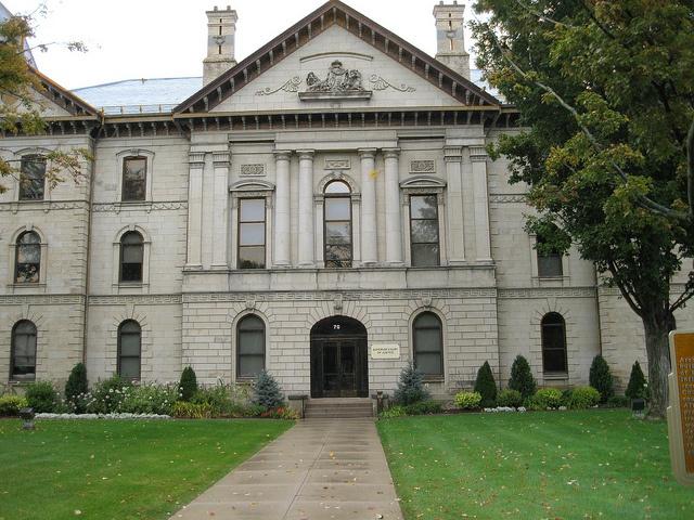 Brant County Courthouse, 1852, Brantford, Ontario