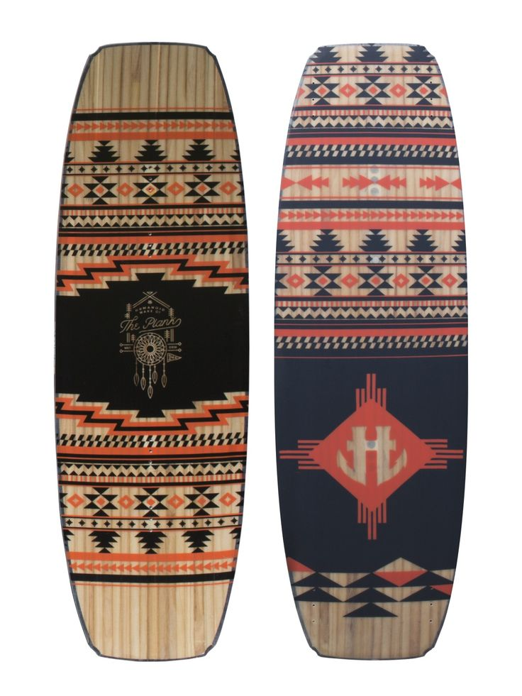 Plank wakeboard