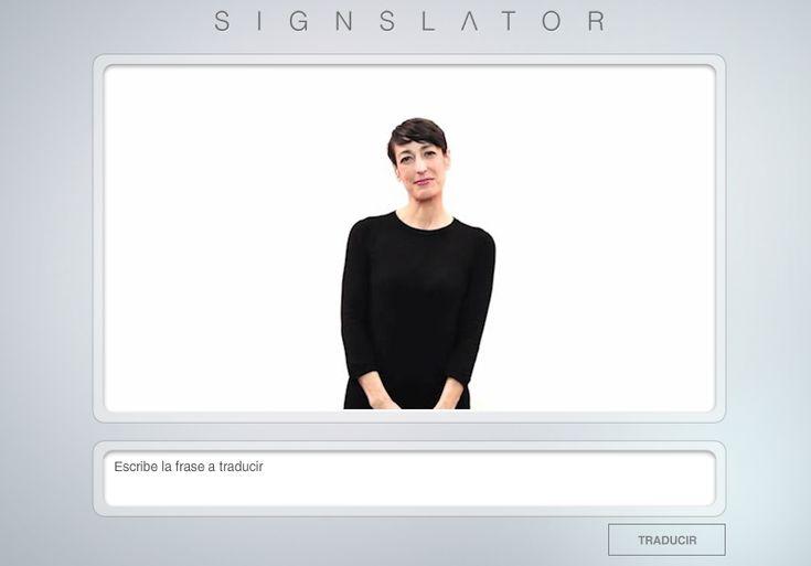 Traductor de palabras a lenguaje de señas - Neoteo