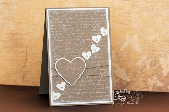 card with heart by stempelwiese.de