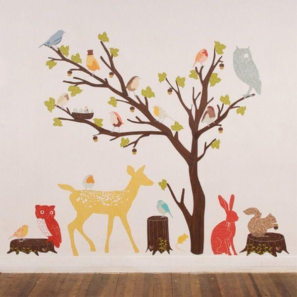 Best Cuarto De Papito Images On Pinterest Nursery Ideas - Nursery wall decals gender neutral