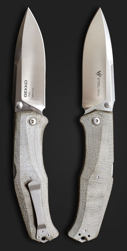 Steel Will Gekko 1530 Outdoor Survival Fixed Knife Blade @aegisgears