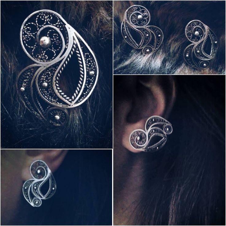 silver earring https://www.facebook.com/j.filigree?ref=hl