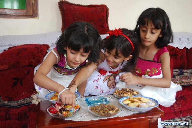 eid celebration in Yemen..............