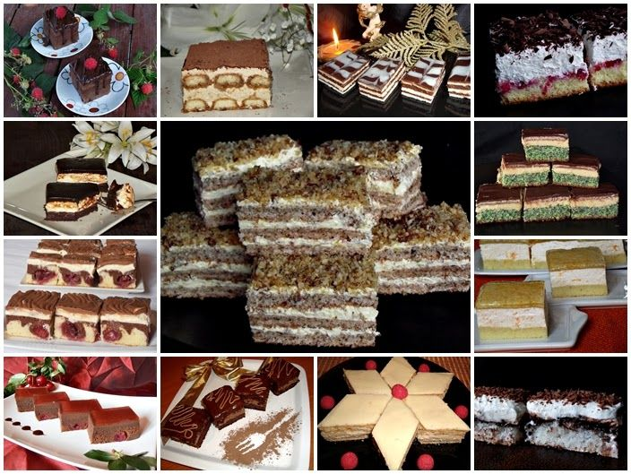 CAIETUL CU RETETE: Prajituri festive