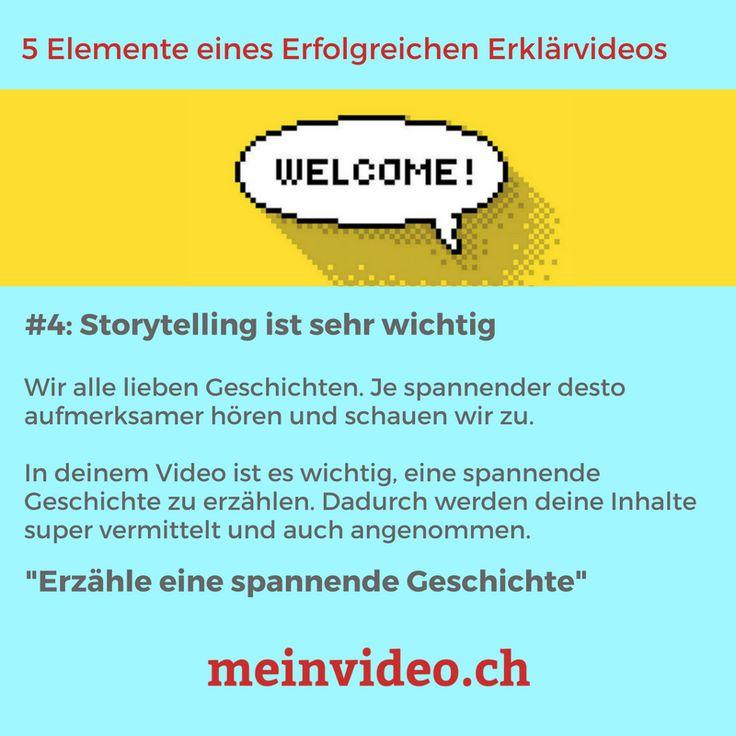 """5 Elemente eines Erfolgreichen Erklärvideos  #4: Storytelling ist sehr wichtig  Wir alle lieben Geschichten. Je spannender desto aufmerksamer hören und schauen wir zu.  In deinem Video ist es wichtig, eine spannende Geschichte zu erzählen. Dadurch werden deine Inhalte super vermittelt und auch angenommen.  """"Erzähle eine spannende Geschichte""""  -> Erklärvideo benötigt? http://amp.gs/pu3L"""
