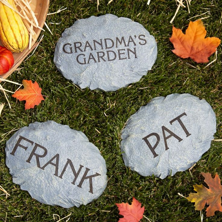 Decorative Garden Stones | Personalized Garden Stones at Personal Creations