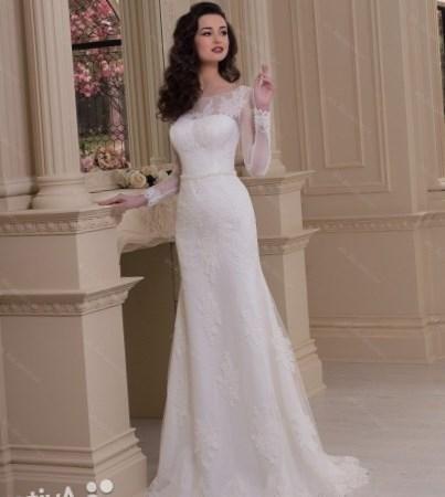 свадебное платье кружевное фото
