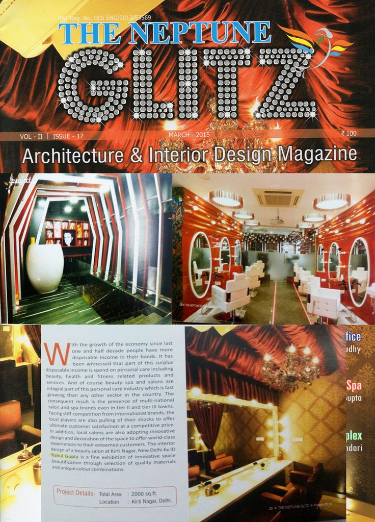 """GLITZ"" one of the best interior design and architecture magazine Featuring one of the best Interior Designing and Decorating company Ninthcorner Inc http://www.ninthcorner.com"
