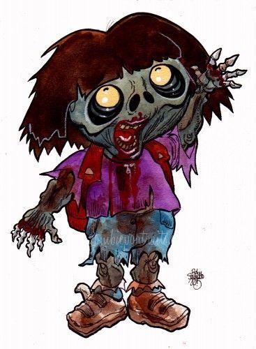 zombie dora the explorer